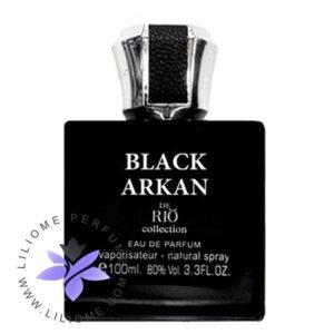 عطر ادکلن ریو بلک ارکان-مشابه بلک افغان-Rio Black Arkan