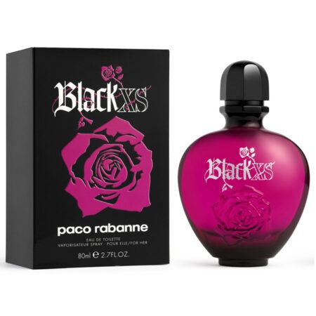 عطر ادکلن پاکو رابان بلک ایکس اس زنانه-Paco Rabanne Black XS EDT