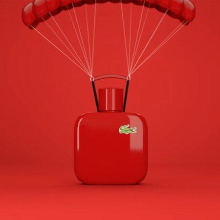 عطر ادکلن لاگوست روژ-قرمز-Lacoste L.12.12 Rouge