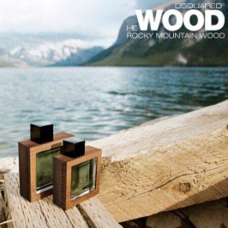 عطر ادکلن هی وود راکی مانتین وود-مشکی-He Wood Rocky Mountain Wood