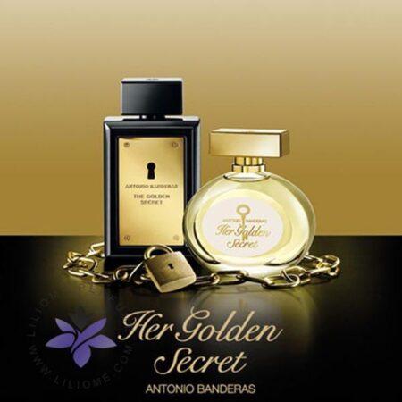 عطر ادکلن آنتونیو باندراس گلدن سکرت-Antonio Banderas The Golden Secret