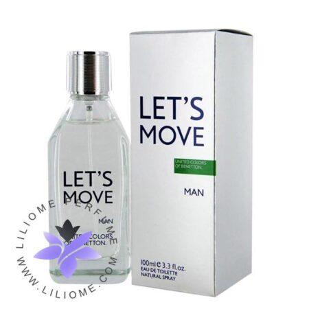 عطر ادکلن بنتون لتس موو-Benetton Let`s Move