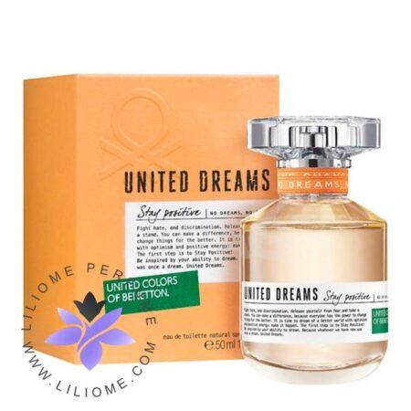 عطر ادکلن بنتون یونایتد دریمز استی پوزیتیو-Benetton United Dreams Stay Positive