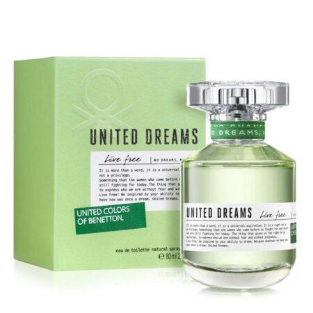 عطر ادکلن بنتون یونایتد دریمز لایو فیری-Benetton United Dreams Live Free