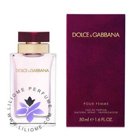 عطر ادکلن دی اند جی دلچه گابانا پور فم-Dolce Gabbana Pour Femme