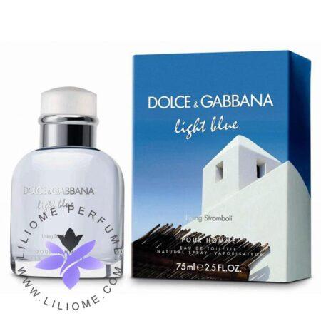 عطر ادکلن دلچه گابانا لایت بلو لیوینگ استرامبولی-Dolce Gabbana Light Blue Living Stromboli