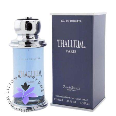 عطر ادکلن تالیوم مردانه-آبی-Yves De Sistelle Thallium for men