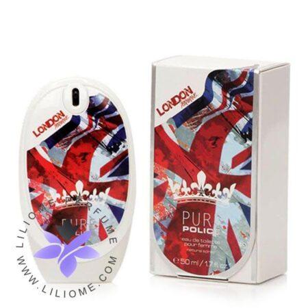 عطر ادکلن پلیس پیور لندن زنانه-سفید-Police Pure London Femme