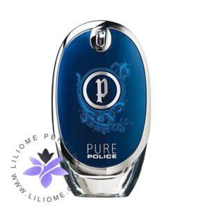 عطر ادکلن پلیس پیور مردانه-آبی-Police Pure Man