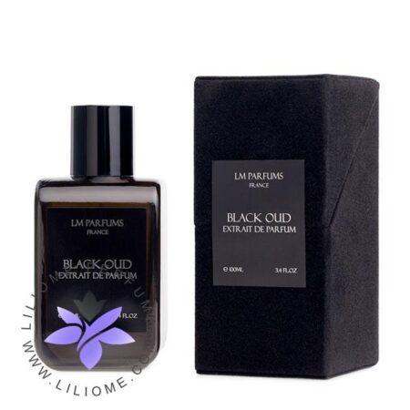 عطر ادکلن لوران مازون-ال ام بلک عود-LM Parfums Black Oud
