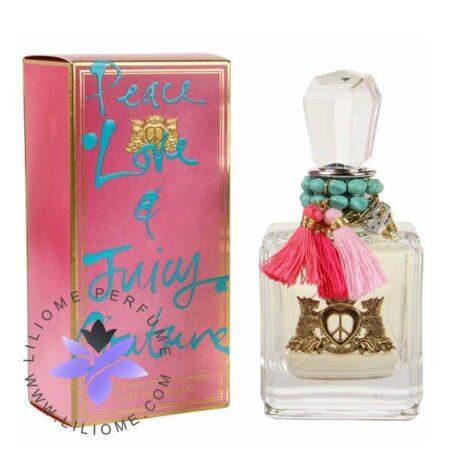 عطر ادکلن جویسی کوتور پیس لاو اند جویسی کوتور-Juicy Couture Peace, Love and Juicy Couture