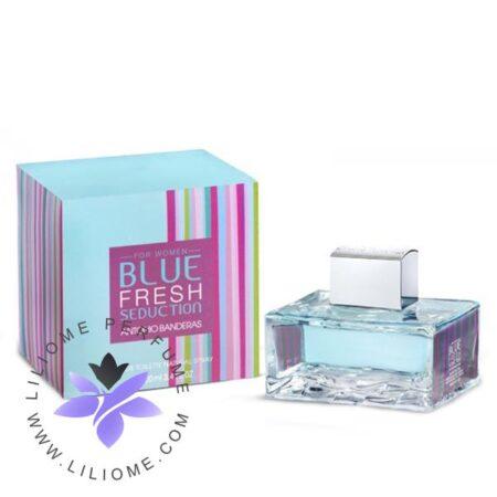 عطر ادکلن آنتونیو باندراس بلو فرش سداکشن زنانه-Antonio Banderas Blue Fresh Seduction for women