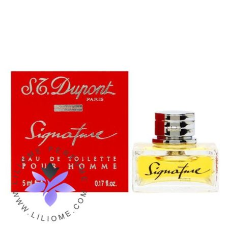 عطر ادکلن اس تی دوپونت سیگنیچر مردانه-S.t Dupont Signature Man