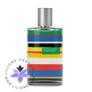 عطر ادکلن بنتون اسنس آف یونایتد کلورز مردانه-Benetton Essence of United Colors Man