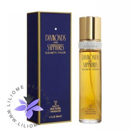 عطر ادکلن الیزابت تیلور دیاموندز اند سافایرز-Elizabeth Taylor Diamonds and Sapphires
