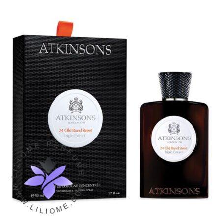 عطر ادکلن اتکینسونز-اتکینسون 24 اولد بوند استریت تریپل اکسترکت-Atkinsons 24 Old Bond Street Triple Extract