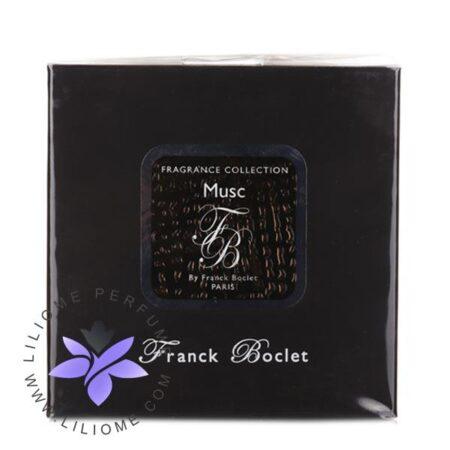 عطر ادکلن فرانک بوکلت ماسک-Franck Boclet Musc