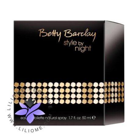 عطر ادکلن بتی بارکلی استایل بای تایت-Betty Barclay Style by Night