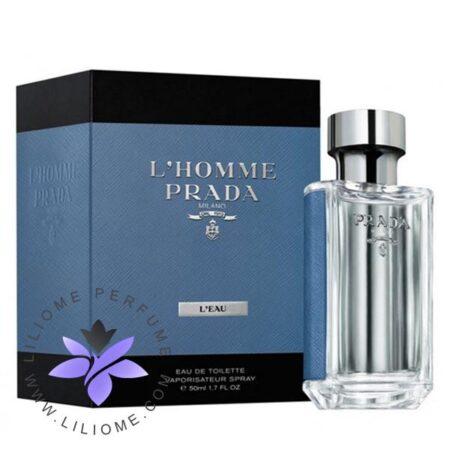 عطر ادکلن پرادا لهوم لئو-Prada L'Homme L'Eau