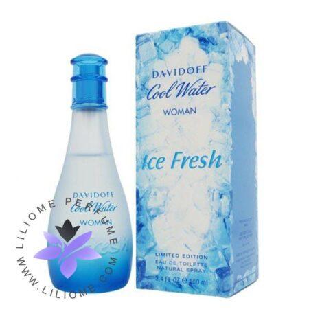 عطر ادکلن دیویدوف کول واتر آیس فرش زنانه-Davidoff Cool Water Women Ice Fresh