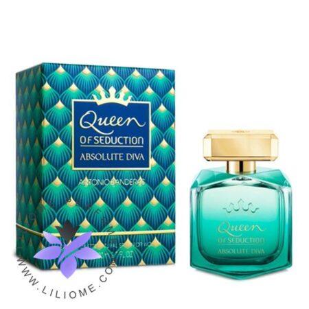 عطر ادکلن آنتونیو باندراس کویین آف سداکشن ابسولوت دیوا-Antonio Banderas Queen of Seduction Absolute Diva