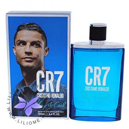 عطر ادکلن کریستین رونالدو سی آر سون پلی ایت کول آبی | Cristiano Ronaldo CR7 Play It Cool