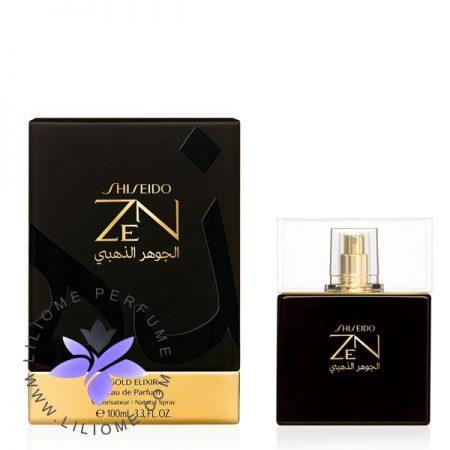 عطر ادکلن شیسیدو زن گلد الکسیر   SHISEIDO Zen Gold Elixir