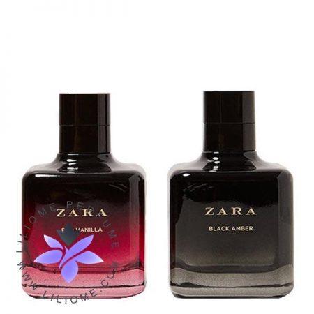 عطر ادکلن زارا رد وانیلا و بلک امبر-دوقلو | Zara red vanilla and black amber