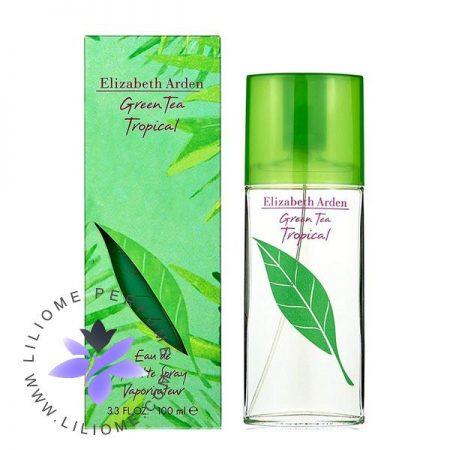 عطر ادکلن الیزابت آردن گرین تی تروپیکال   Elizabeth Arden Green Tea Tropical