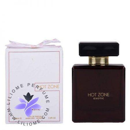 عطر ادکلن فرگرانس هات زون اگزوتیک   Fragrance World Hot Zone exotic