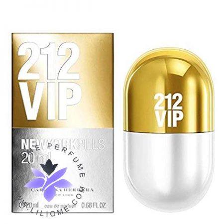 عطر ادکلن کارولینا هررا 212 وی آی پی پیلز زنانه   Carolina Herrera 212 VIP Pills for women