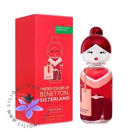 عطر ادکلن بنتون سیسترلند رد رز | Benetton Sisterland Red Rose