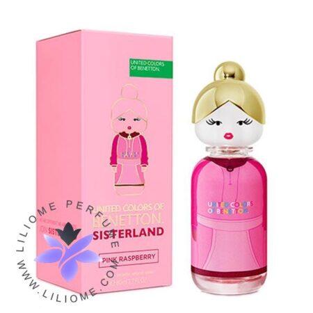 عطر ادکلن بنتون سیسترلند پینک رسپبری | Benetton Sisterland Pink Raspberry
